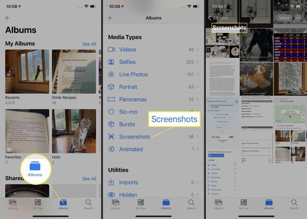 captura pantalla iPhone 12 2