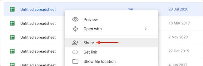 Compartir archivo.