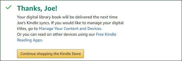 De esta forma podemos pedir prestados libros en bibliotecas para Amazon Kindle desde la web.