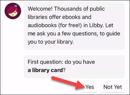 Confirmamos que tenemos la tarjeta de la biblioteca.
