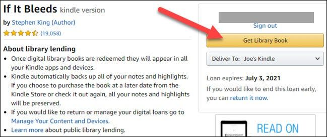Vamos a pedir prestados libros en bibliotecas para Amazon Kindle.