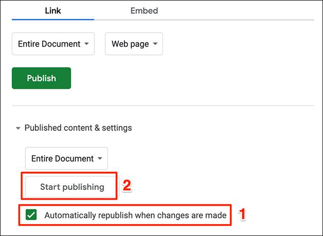Publicar nuevamente cuando se hagan nuevos cambios.