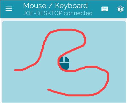 Usar ratón mediante Bluetooth.