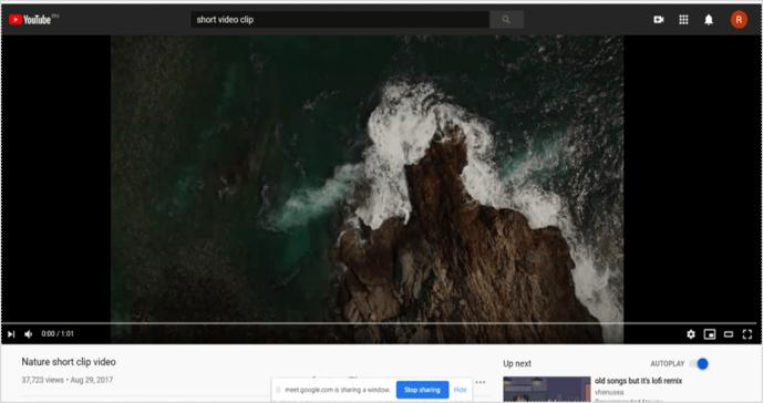 Así es como podemos compartir audio Google Meet.