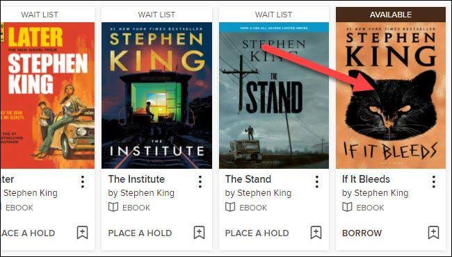 Buscamos el libro que nos interesa.
