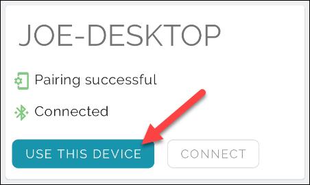 Usar en este dispositivo.