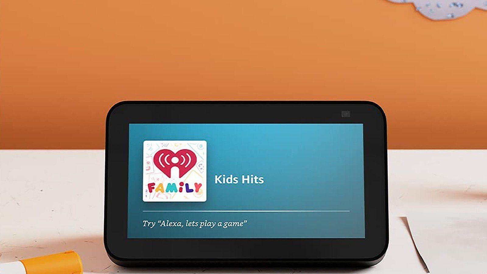 Los controles parentales de Amazon Echo Show 5 Kids.