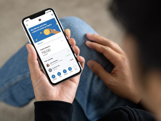 Paypal aumenta su límite semanal de criptomonedas a $ 100,000