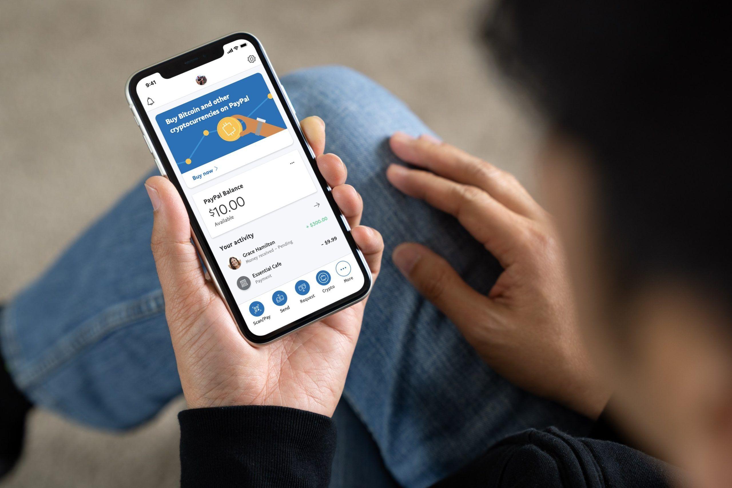PayPal aumenta su límite de semanal de criptomonedas a $ 100,000.