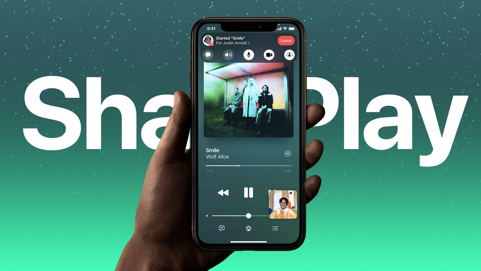 Cómo usar SharePlay en iOS 15 y macOS Monterey