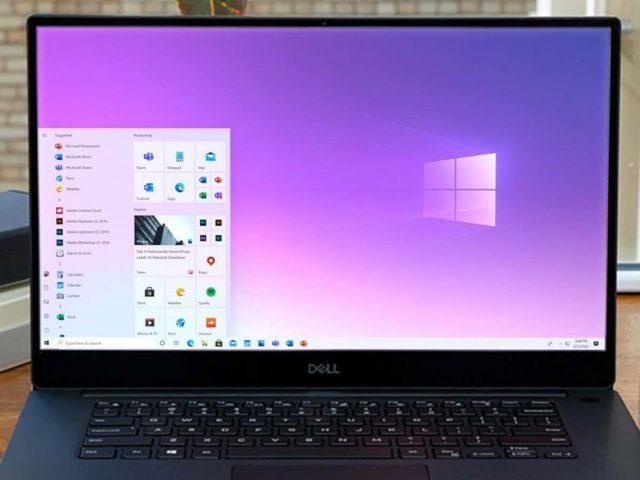 ¿Cómo activar el menú de inicio de Windows 10X?