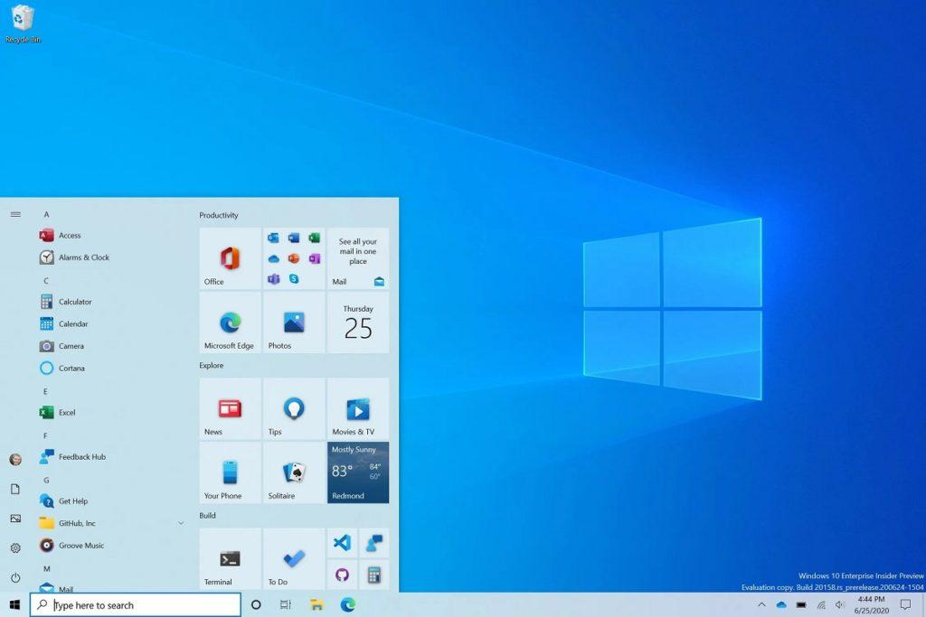 activar inicio Windows 10X 2