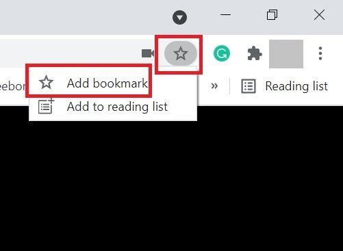 Agregar a marcadores de Chrome o Edge.