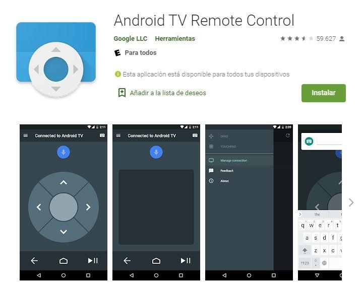 Controlar TV desde un dispositivo Android.