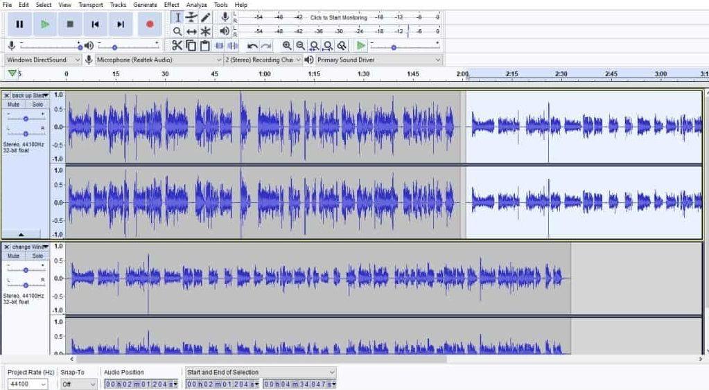 ¿Cómo fusionar o unir archivos de audio?