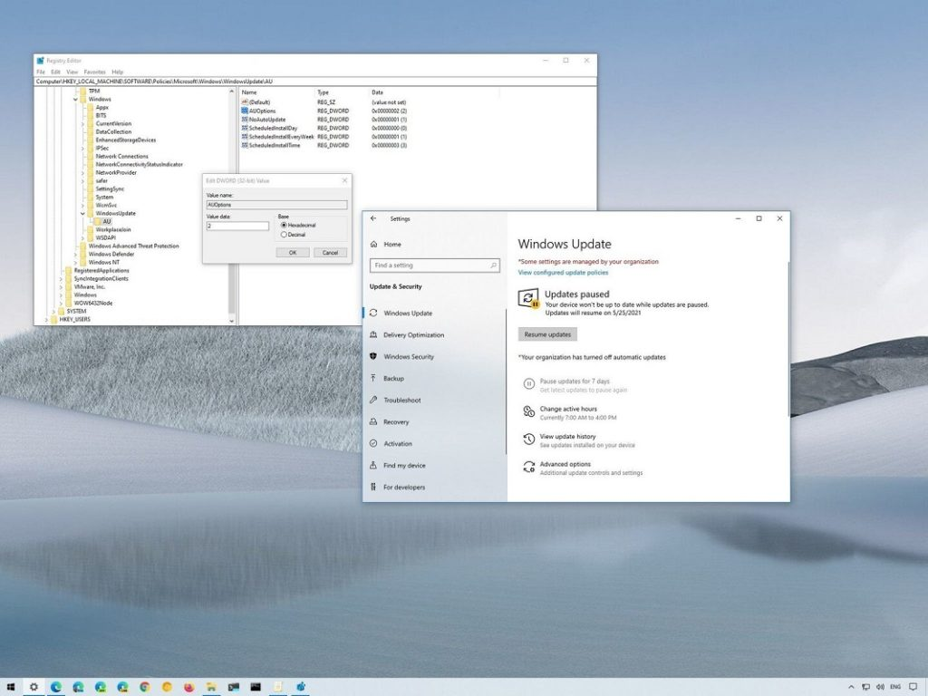 desactivar actualizaciones Windows 10 2