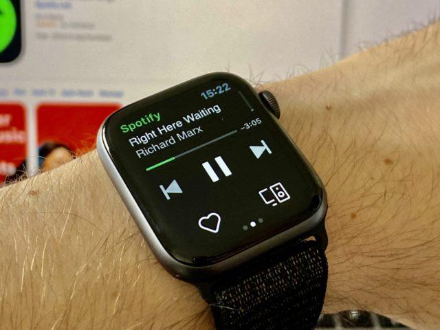 Cómo descargar canciones de Spotify en Apple Watch
