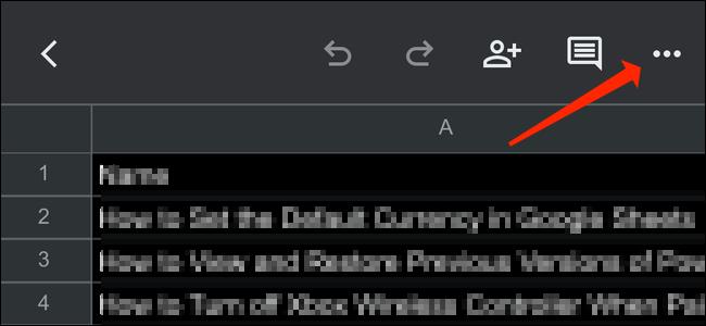 Opciones del documento.