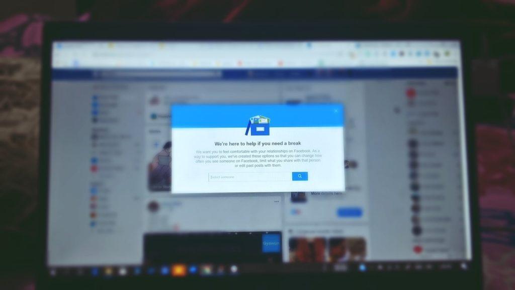 tomar descanso alguien Facebook 2