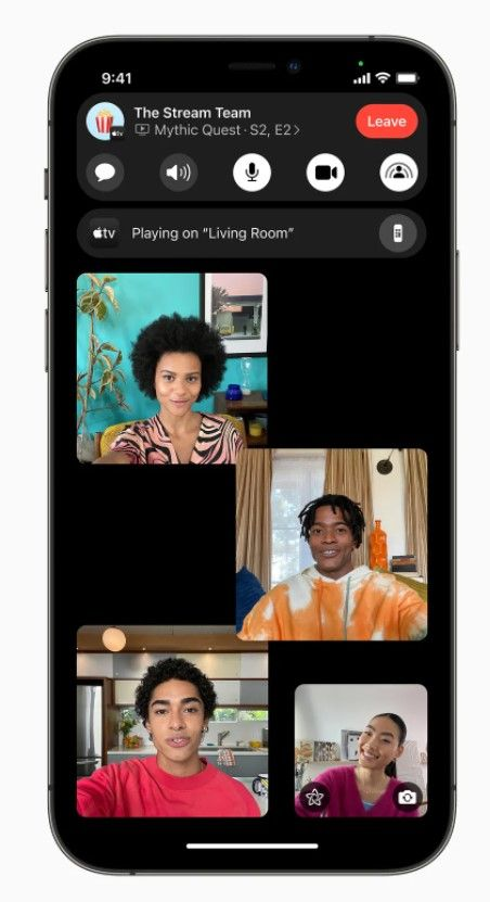Cómo usar SharePlay con Apple TV.