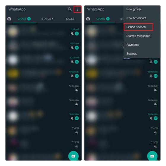 De esta forma comenzamos la guía para usar WhatsApp varios dispositivos