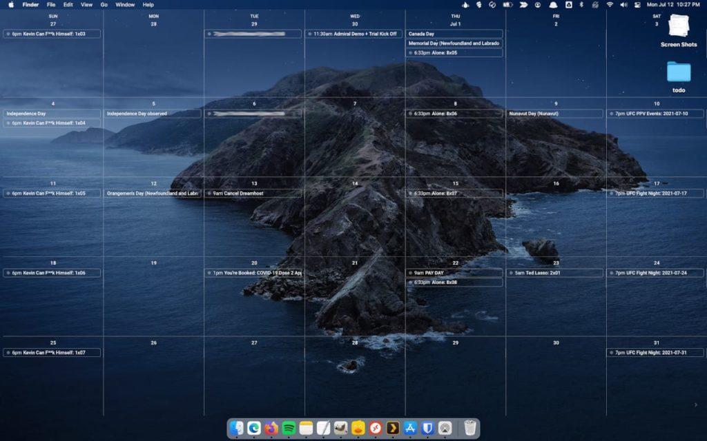 Cómo configurar un sitio web como fondo de escritorio en macOS