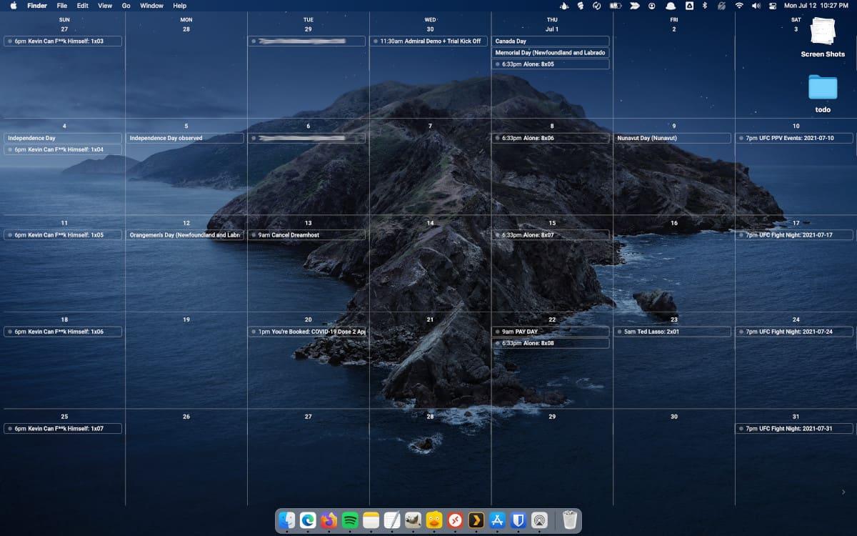 Configura cualquier web como fondo de escritorio en macOS.