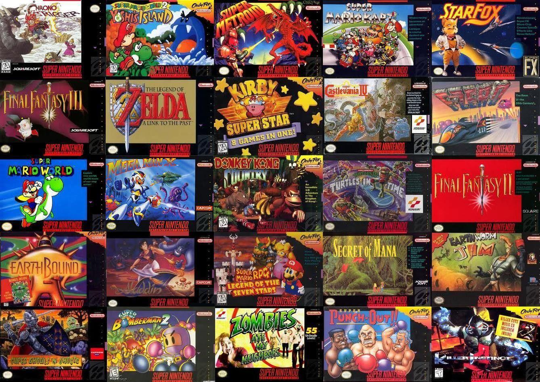Los mejores juegos de Super Nintendo (SNES)