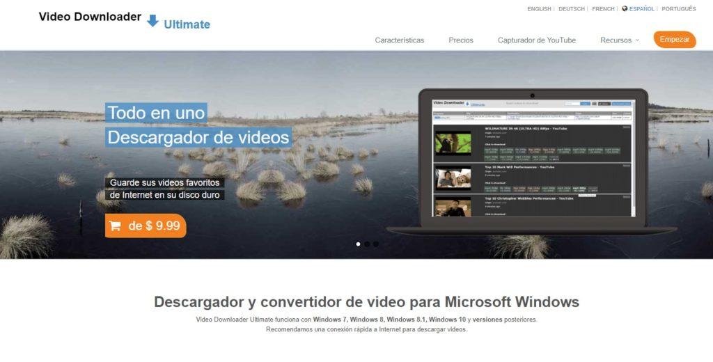 Lo único malo de Video Downloader Profesional es que la versión gratuita es bastante limitada.