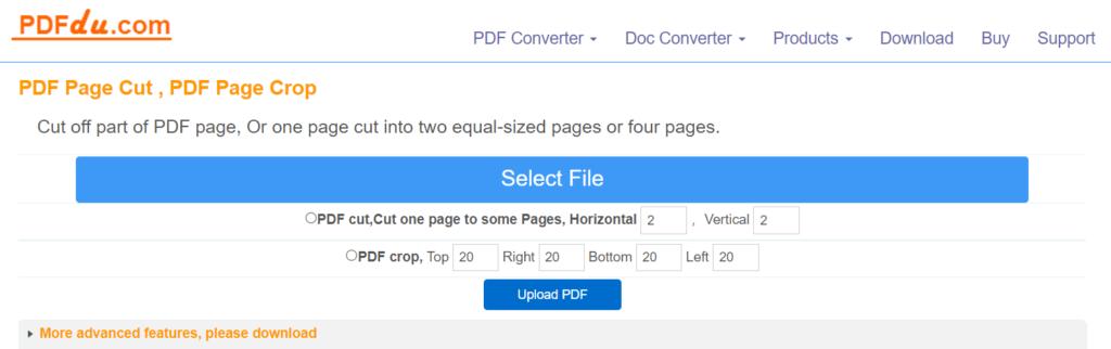 Una herramienta muy simple para editar PDF online.