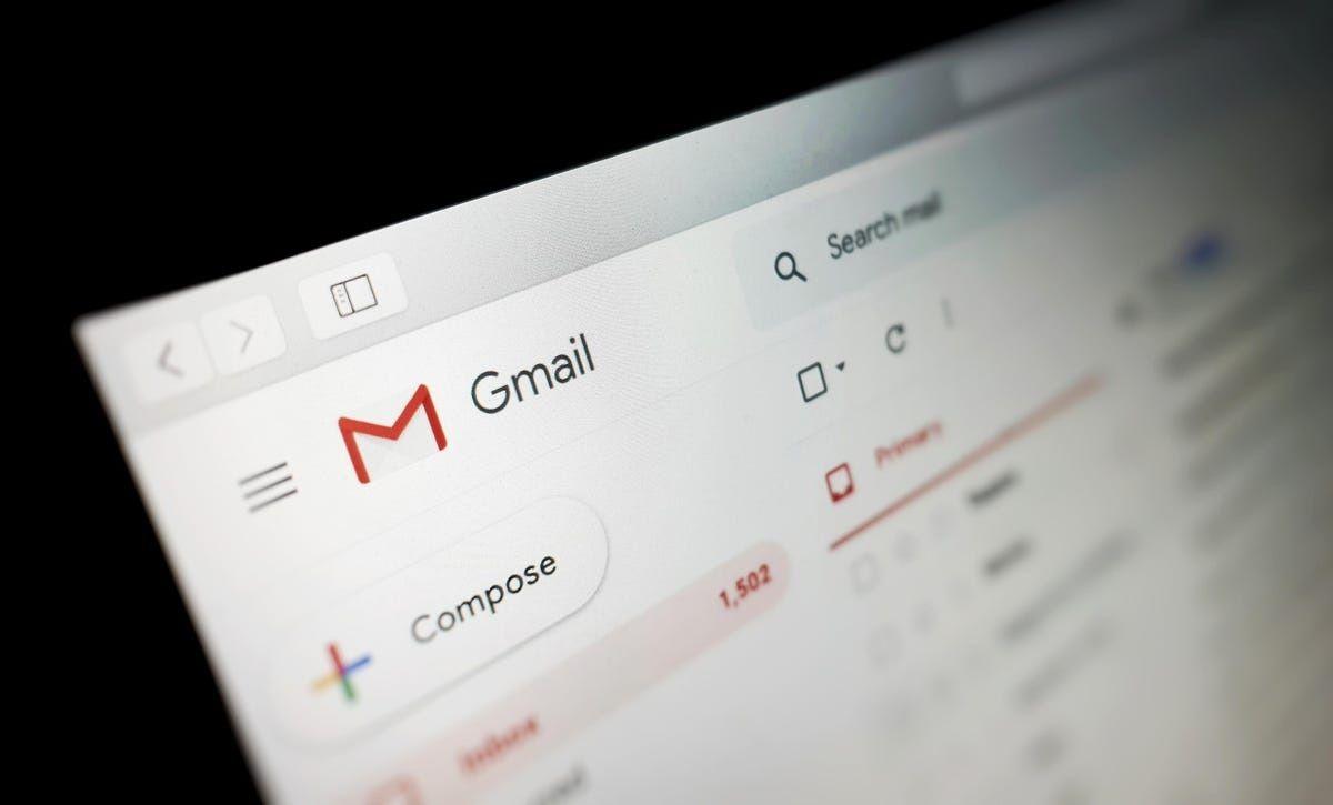 no llegan correos Gmail 1