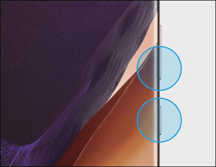 Tomar captura de pantalla en Samsung Galaxy con los botones fisicos.