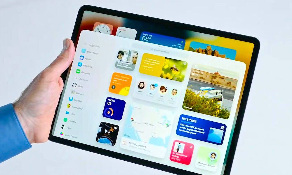 Cómo agregar y usar widgets en iPadOS 15