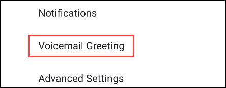 Configuración de correo de voz en Google Pixel.