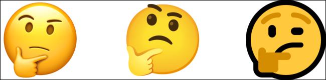Emojis de Windows 8 comparación.