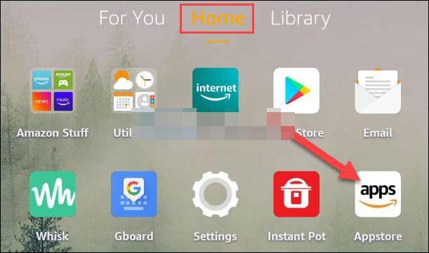 Appstore, tienda de aplicaciones.