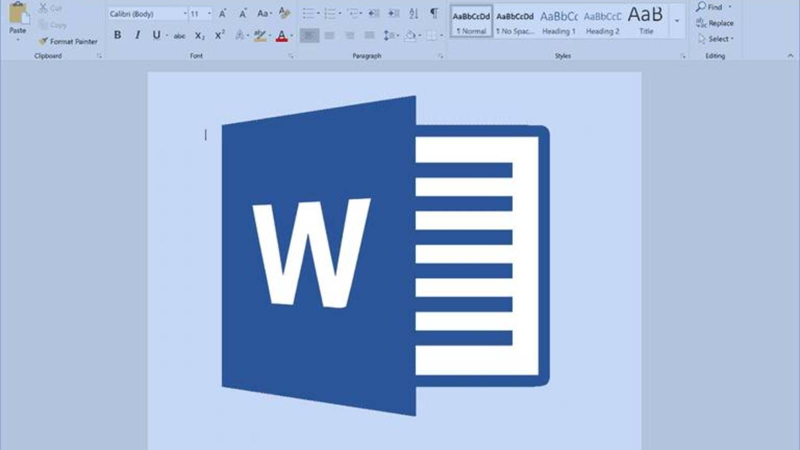 Cómo borrar o eliminar el formato de un documento en Word