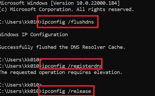 Comandos DNS.