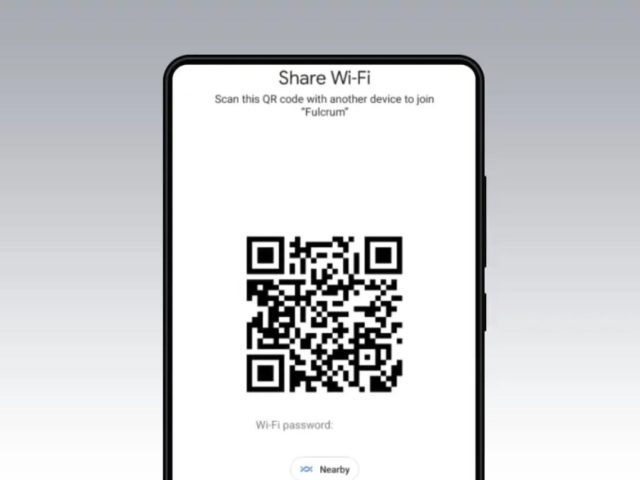 Nuevos métodos para compartir una contraseña Wi-Fi en Android 12