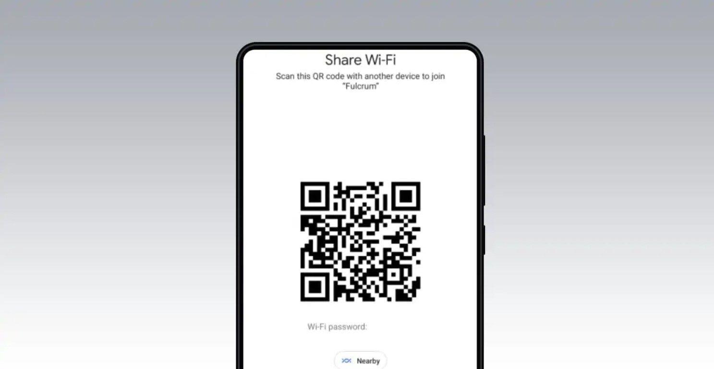 Compartir contraseña de Wi-Fi en Android 12