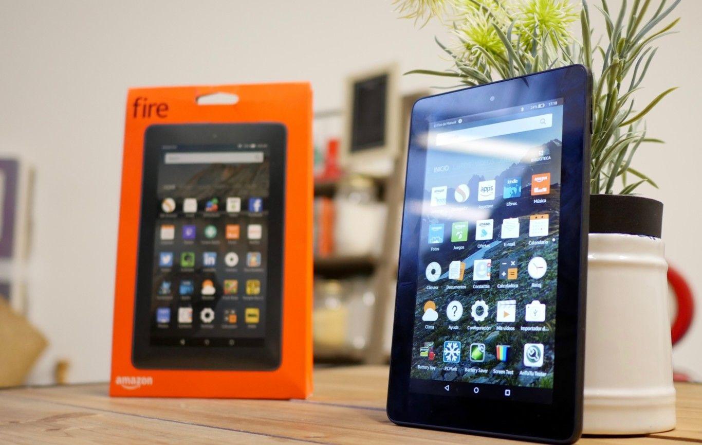 Descargar aplicaciones y juegos en Amazon Fire