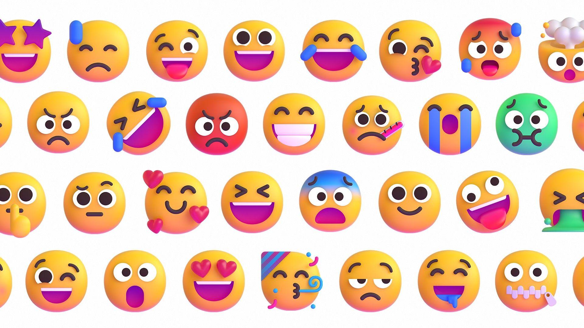 Los nuevos emojis de Windows 11