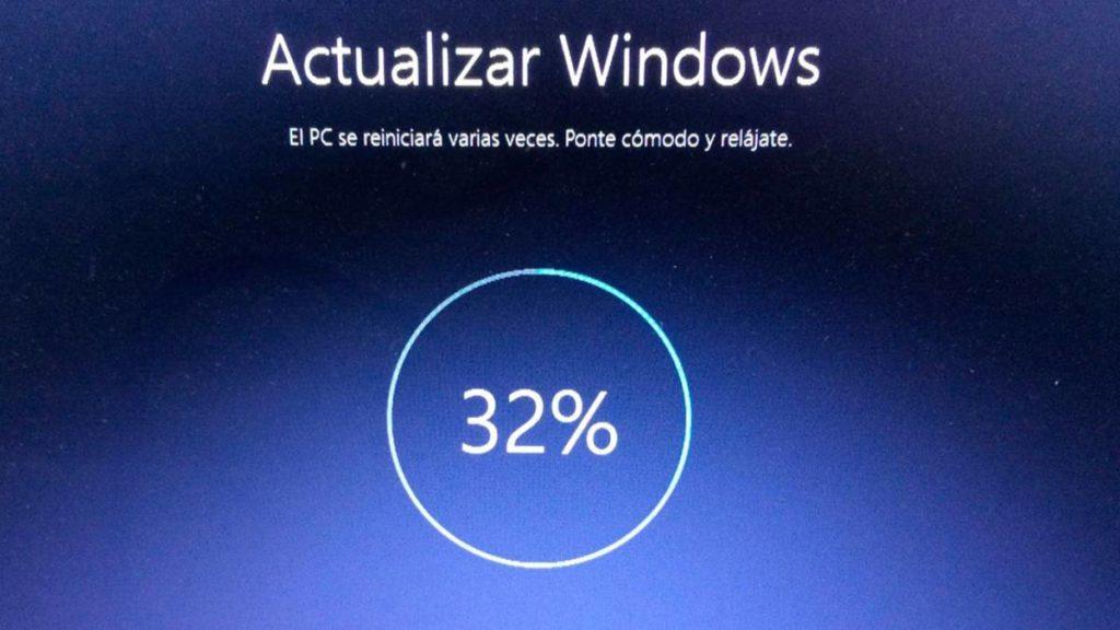 Solución error de actualización de Windows 0x800703ee