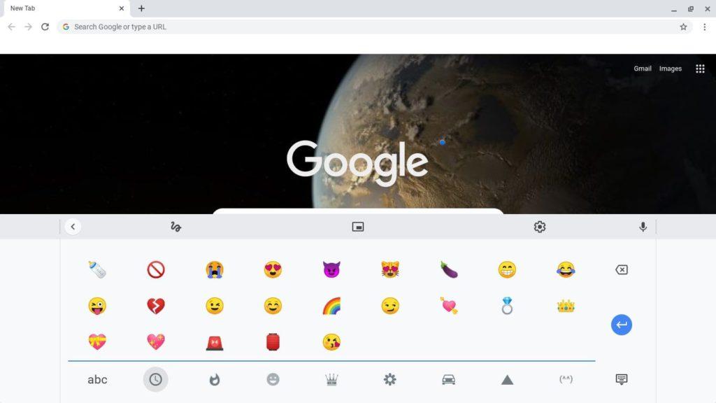 ¿Cómo escribir emojis en un Chromebook?