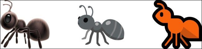 Emojis de la hormiga.