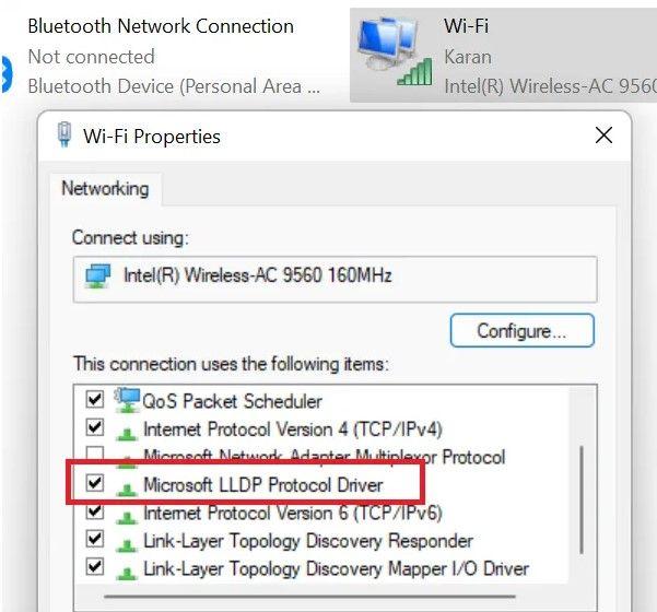Protocolo LLDP de Microsoft.