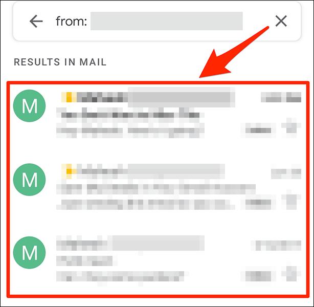 Así podemos organizar correos por remitente en Gmail desde dispositivos móviles.