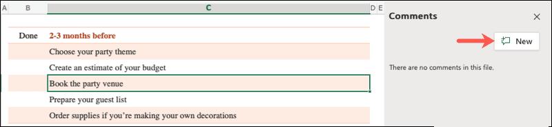 Dejar comentarios en Microsoft Office.