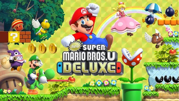 New Super mario Bros.U Deluxe.