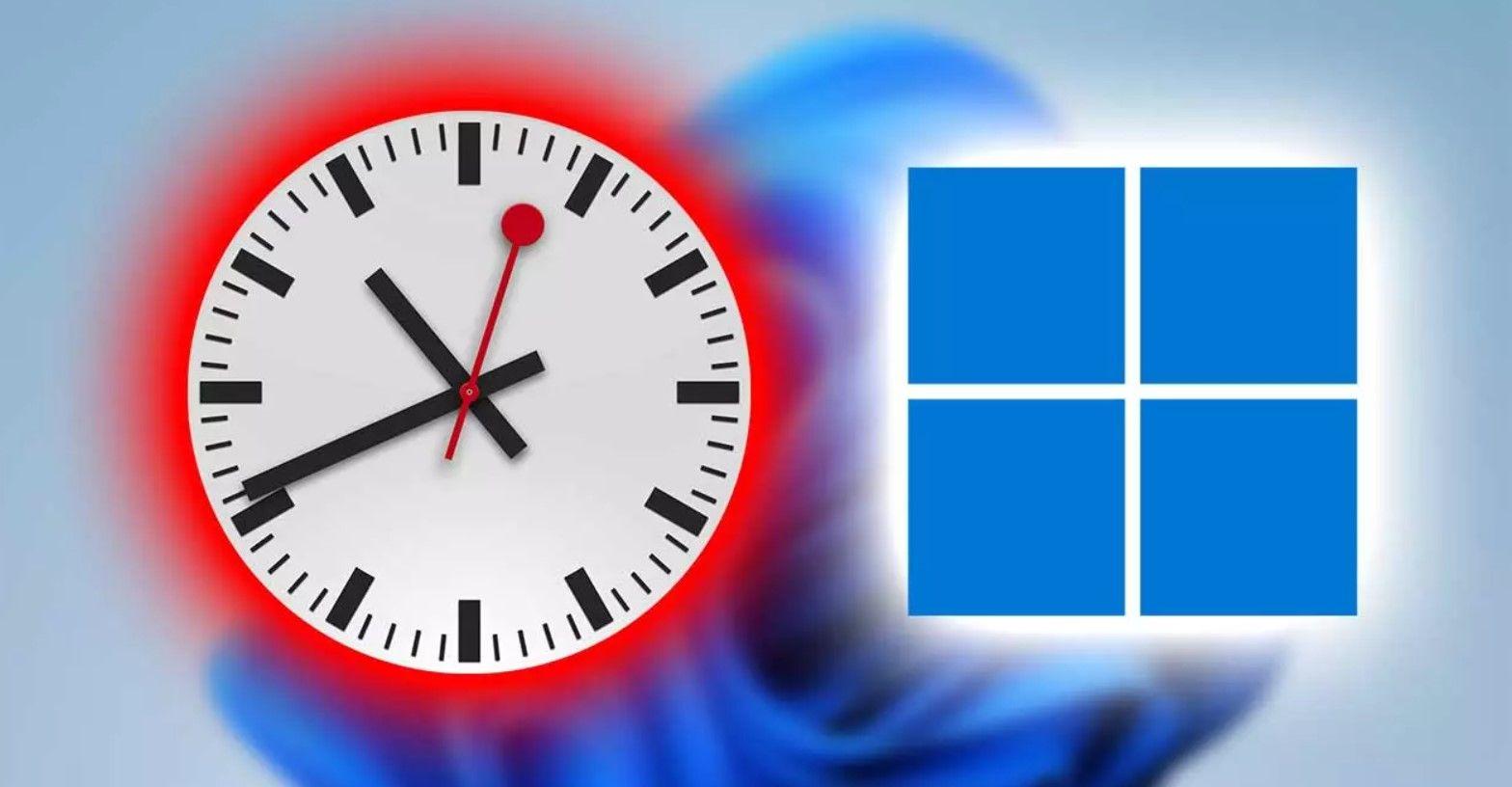 Cómo cambiar la hora en Windows 11